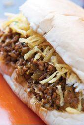 19 - hot dog carne seca duplo cheddar
