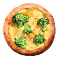 Esfiha brócolis com mussarela