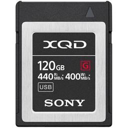 Cartão De Memória Xqd Sony 120Gb Serie G 440Mbs