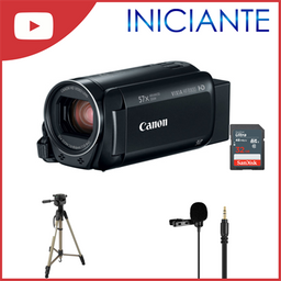 Kit Canon Hf R800 Youtuber Iniciante