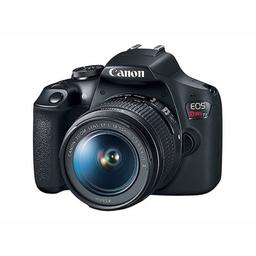 Câmera Canon Rebel Ef-S T7 Kit 18-55Mm Is Ii 24.1Mp Wi-Fi