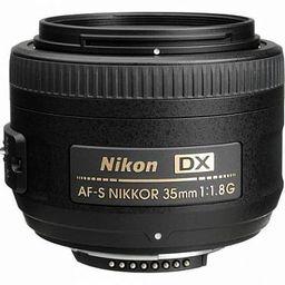 Lente Objetiva Nikon 35Mm F1.8 G Dx
