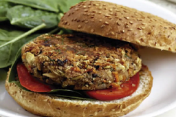 Veggie burguer (vegetariano) + 1 molho especial