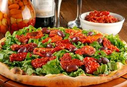 Rúcula e tomate seco
