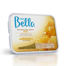 Cera Depil Bella Amarela Mel 1 Kg