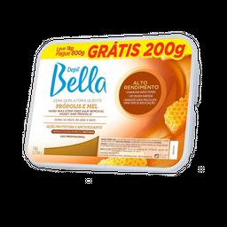 Cera Depilatória Depil Bella Própolis E Mel 800 g