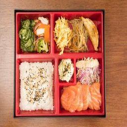Teishoku Sashimi de Salmão