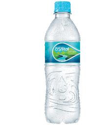 Água mineral crystal 500ml