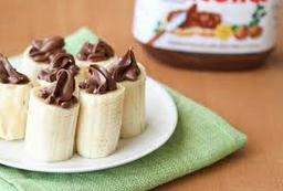 Banana com Nutella - 1 Unidade