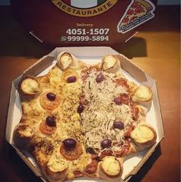 1 Pizza TRADICIONAL Borda VULCÃO + 1 Refri 2L
