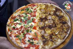 Pizza Meio a Meio Tradicional
