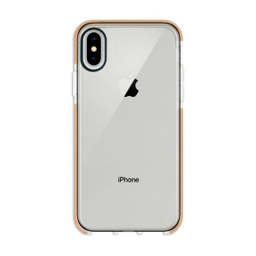 Capa Anti-Impacto Com Borda Iphone X/XS Dourada