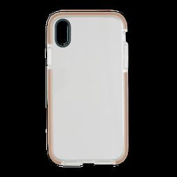 Capa Anti-Impacto Com Borda Iphone XR Dourada