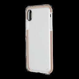 Capa Anti-Impacto Com Borda Iphone XS Max Dourada