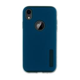 Capa Anti-Impacto Iphone XR Azul Logo