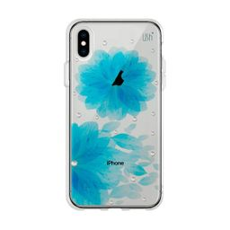 Capa USH Iphone XS Max Cravo Azul