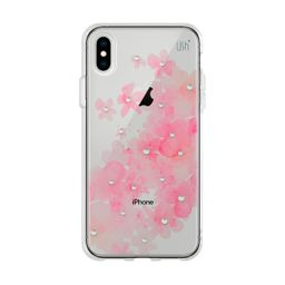 Capa USH Iphone XS Max Flor Rosa