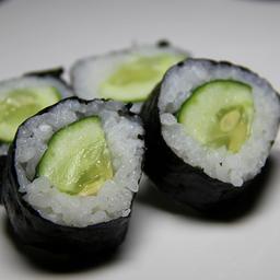 Makimono 5 peças de kappamaki