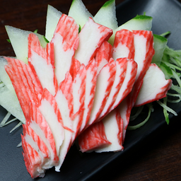 5 peças de sashimis de kani