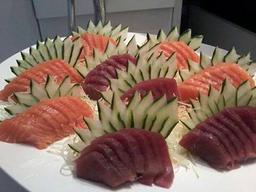 30 sashimis salmão e atum