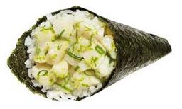 Temake de peixe branco