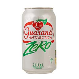 Guaraná antárctica zero-lata 350 ml