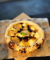 Pizza de Doce de Leite com Queijo