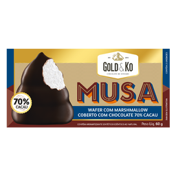 Chocolate Musa 70% Cacau 60 g