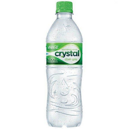 Água crystal com gás 500ml
