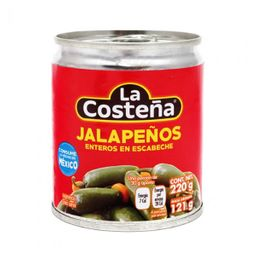 Conserva La Costena Jalapenho Entero 220 g