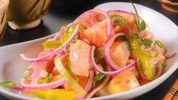 Ceviche salmão 300g