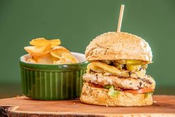 Hambúrguer Especial de Frango