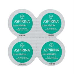 Aspirina Microativa 500 mg 4 Comprimidos