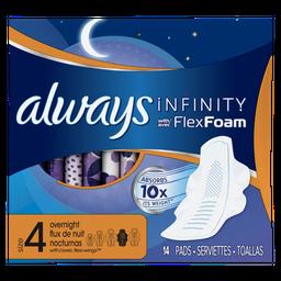 Absorvente Always Infinity Noturno 14 Und