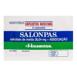 Adesivo Salonpas Tamanho Grande 4 Und