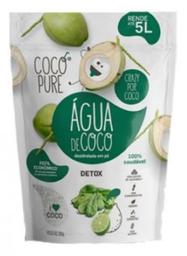 Água De Coco Em Pó Cocopure Detox Garrafinha 18 g