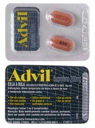 Analgésico Advil Blister 2 Comprimidos