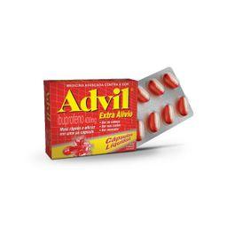Analgésico Advil Extra Alivio 400 mg Blister 8 Cápsulas