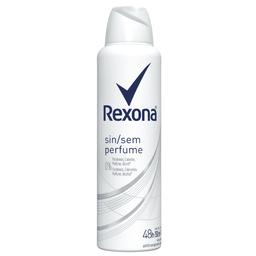 Antitranspirante Rexona Clinical Aerosol Sem Perfume 96H 150 mL