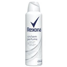Antitranspirante Rexona Clinical Aerosol Sem Perfume 96H 150 mL