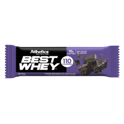 Barra Best Whey Brownie De Chocolate 32 g