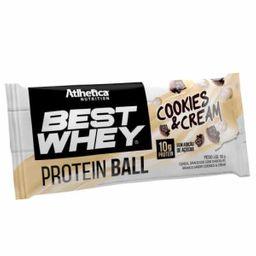 Barra Best Whey Protein Ball Cookies & Cream 50 g