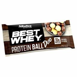 Barra Best Whey Protein Ball Duo Chocolate Ao Leite 50 g