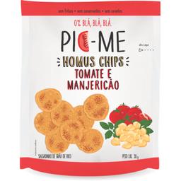 Chips Pic-Me Homus Tomate E Manjerição 30 g