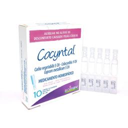 Cocyntal Solução Oral 10 Flaconetes 1 mL