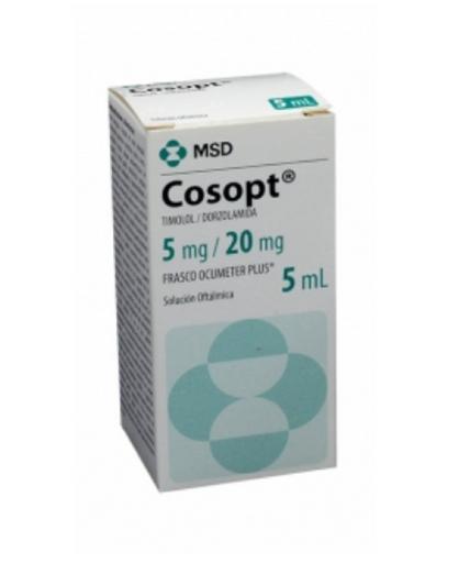 Colírio Cosopt Solução 5 mL