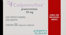 Colpotrofine Vaginal 0,01 g 20 Cápsulas