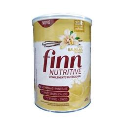 Finn Nutritive Lata Baunilha Cremosa 400g