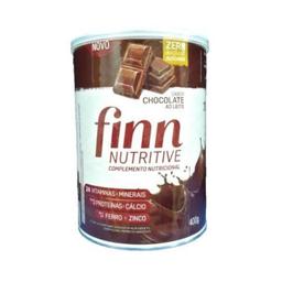 Finn Nutritive Complemento Nutricional Chocolate Ao Leite