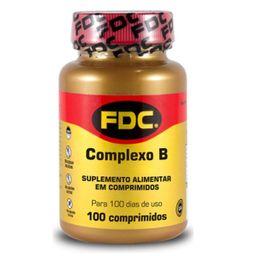 Complexo B Fdc 100 Comprimidos